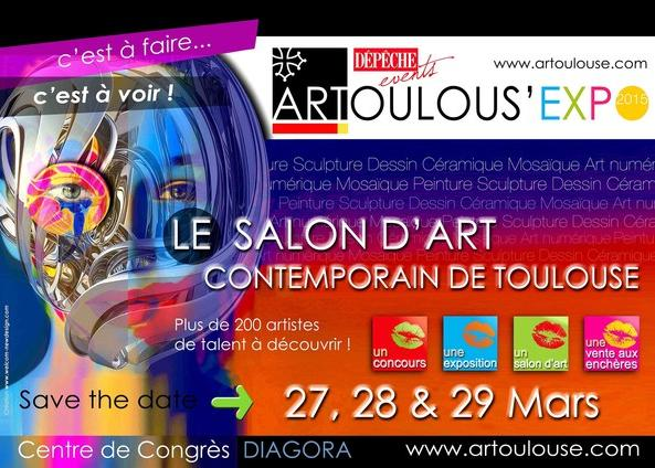 Evenements laurent lafontas - Salon international d art contemporain toulouse ...